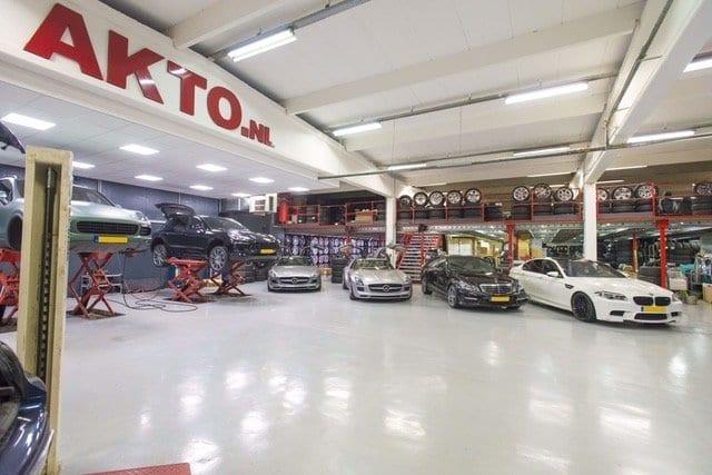 Vloercoating garage AKTO
