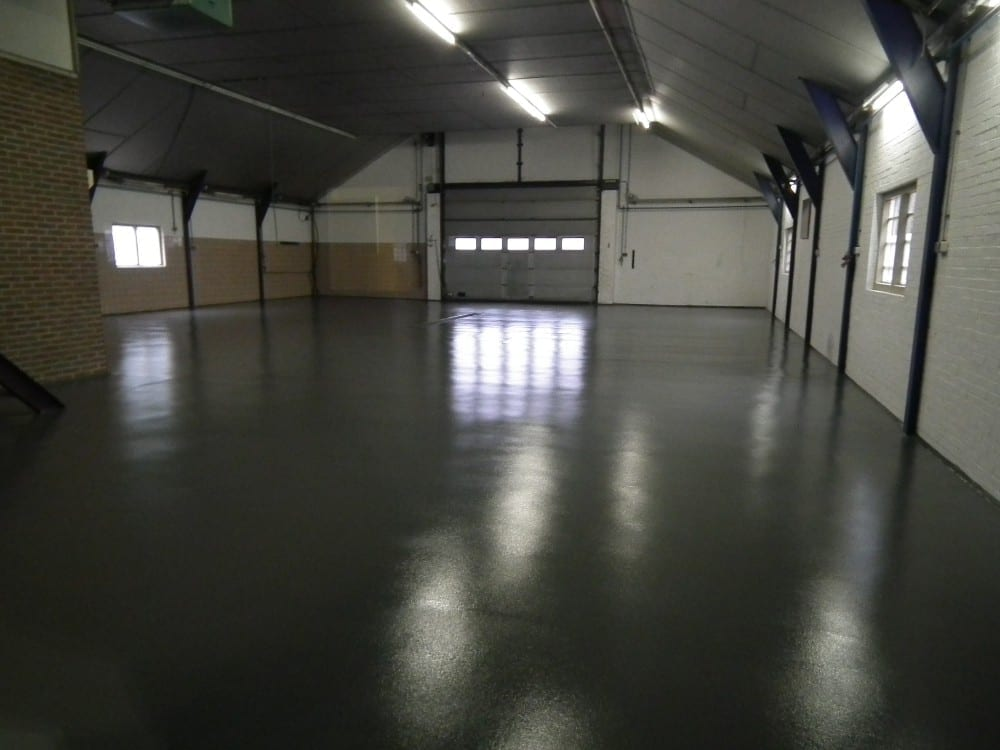 Vloercoating garage Greefhorst