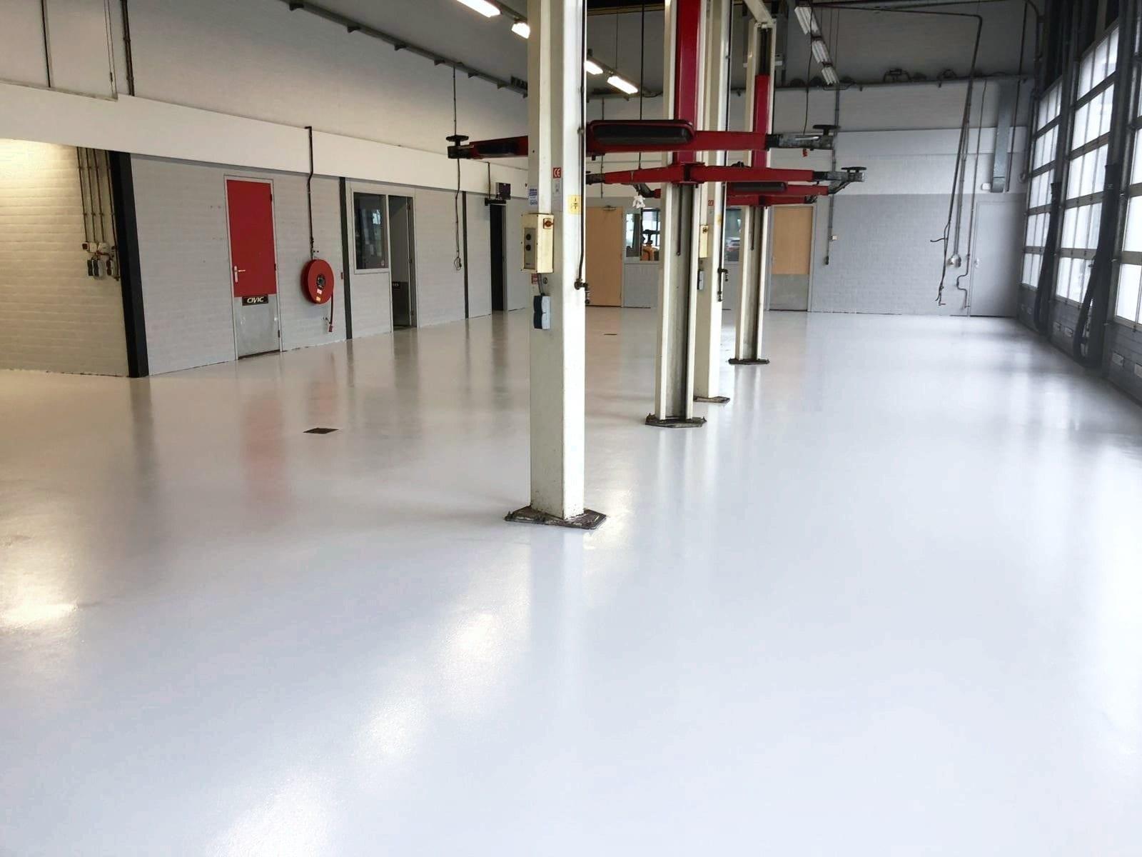 werkplaats coating