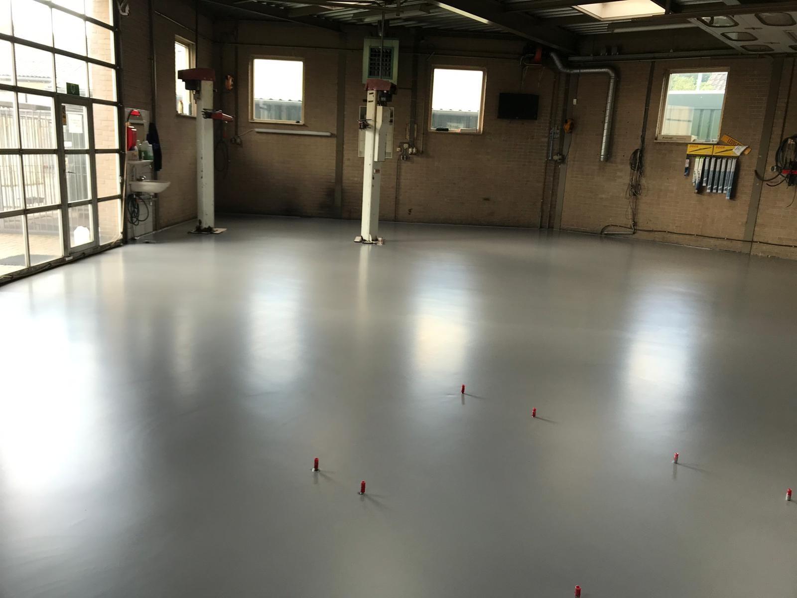 werkplaats vloer