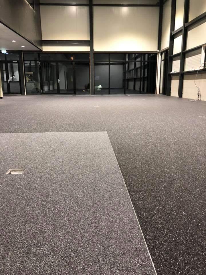 kantoorvloer grindvloer